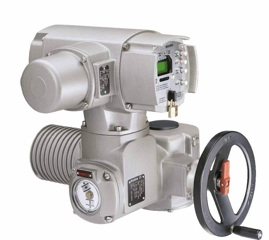 Электропривод степень защиты IP 67, номинальный момент Нм=250 - 300, 380В
